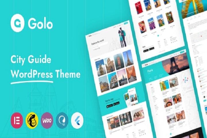 Golo - City Travel Guide WordPress Theme