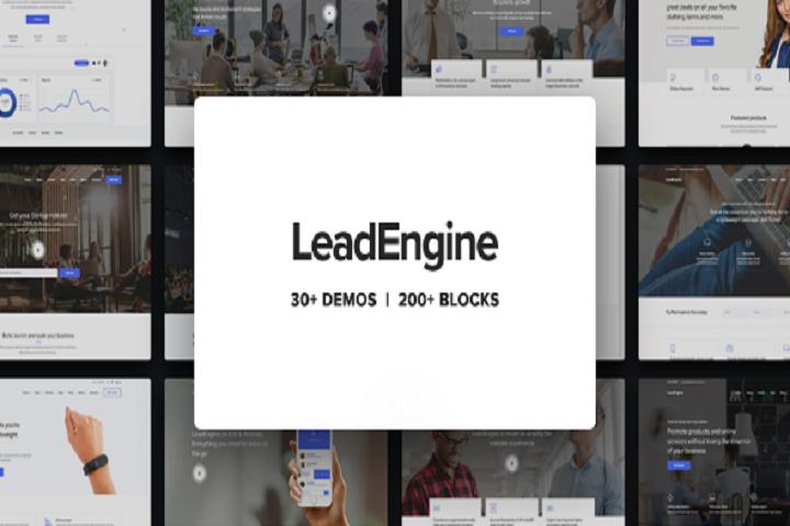 LeadEngine - Multi-Purpose WordPress Theme with Page Builder