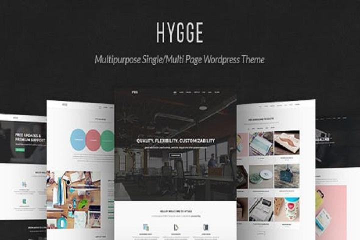 Hygge - Multipurpose Single/Multi Page WP Theme