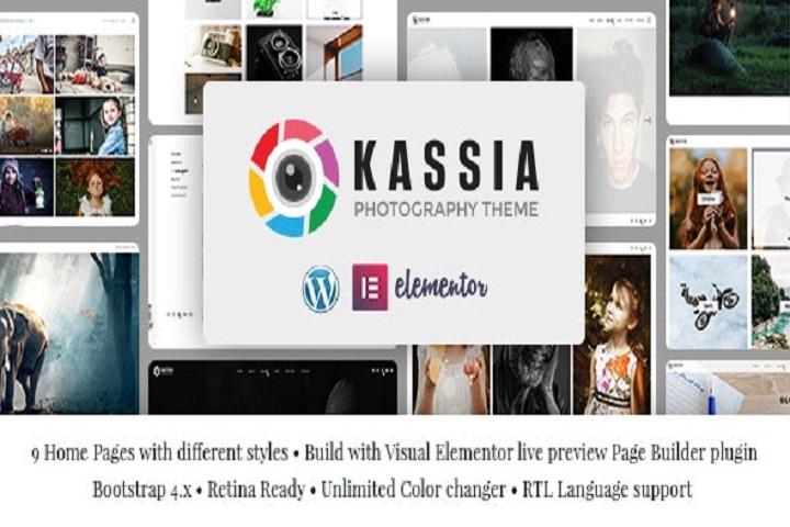 Kassia - Photography WordPress Theme