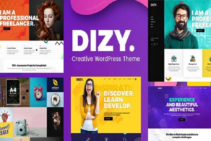 Dizy - Creative Portfolio Theme