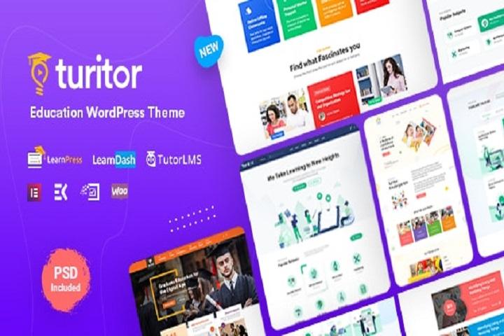 Turitor - LMS & Education WordPress Theme