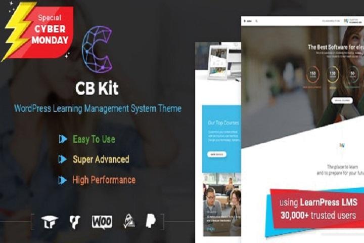 Course & LMS WordPress Theme | CBKit-Education