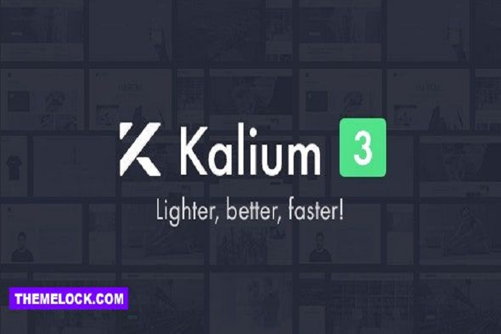 Kalium - Creative Theme for Professionals - Education